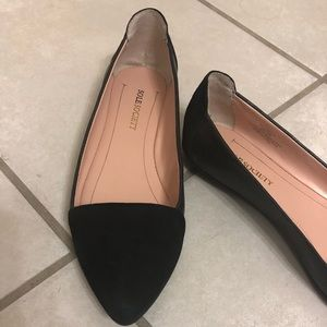 Black Sole Society Janette Flats